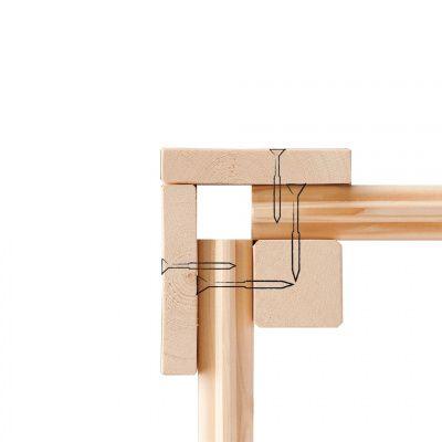 Afbeelding 6 van Woodfeeling Kortrijk 3 met veranda 240 cm