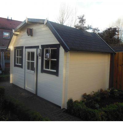 Bild 7 von Azalp Blockhaus Yorkshire 400x400 cm, 30 mm