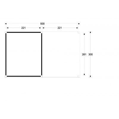 Afbeelding 3 van WoodAcademy Sapphire excellent Douglas blokhut 500x300 cm