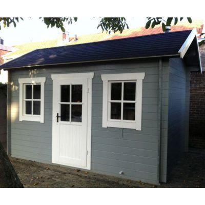 Bild 4 von Azalp Blockhaus Lis 350x350 cm, 30 mm
