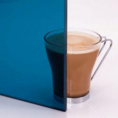 Afbeelding 4 van Ilogreen Saunadeur Trend (Elzen) 189x69 cm, blauwglas