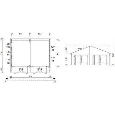 Bild 18 von Azalp Garage Madrid 750x536 cm, 95 mm
