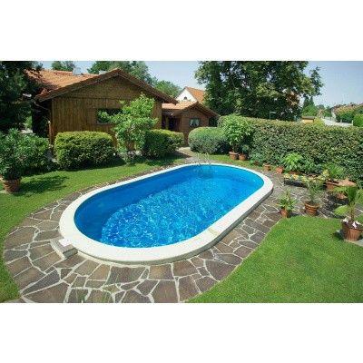 Afbeelding 10 van Trend Pool Tahiti 490 x 300 x 120 cm, liner 0,8 mm (starter set)