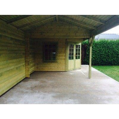 Bild 15 von Interflex Blockhaus 3055 Z, Seitendach 500 cm