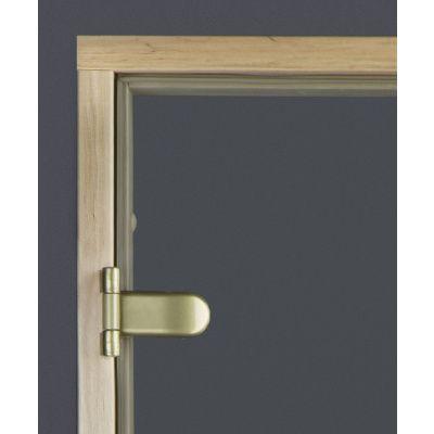 Afbeelding 6 van Ilogreen Saunadeur Classic (Elzen) 89x209 cm, helderglas