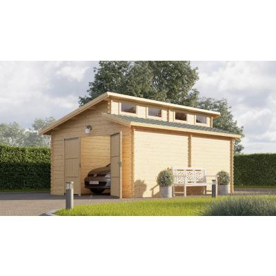 Hoofdafbeelding van Graed Twin Garage 400x595 cm, 44 mm
