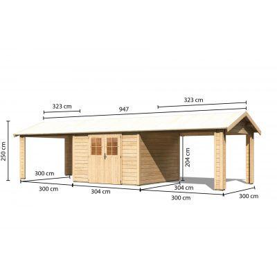 Bild 2 von Woodfeeling Blankenberge 7 mit 2 Anbaudächer