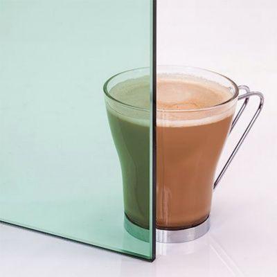 Afbeelding 3 van Ilogreen Saunadeur Trend (Elzen) 209x79 cm, groenglas