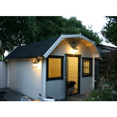 Bild 10 von Azalp Blockhaus Yorkshire 400x250 cm, 45 mm