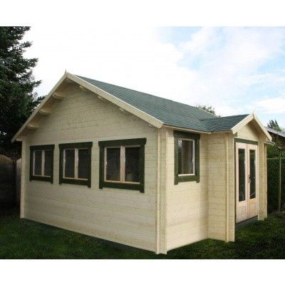 Bild 10 von Azalp Blockhaus Essex 400x450 cm, 30 mm
