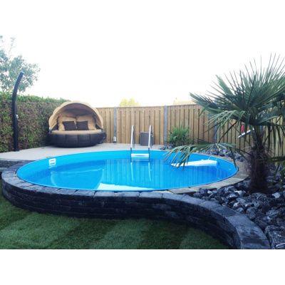 Afbeelding 8 van Trend Pool Ibiza 420 x 120 cm, liner 0,6 mm