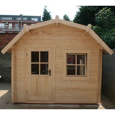 Bild 12 von Azalp Blockhaus Kent 350x400 cm, 30 mm
