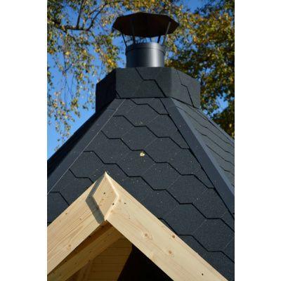 Afbeelding 9 van Azalp Grill met schoorsteen