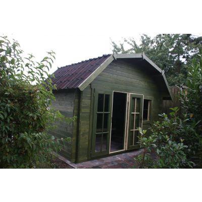 Bild 3 von Azalp Blockhaus Cornwall 400x350 cm, 30 mm