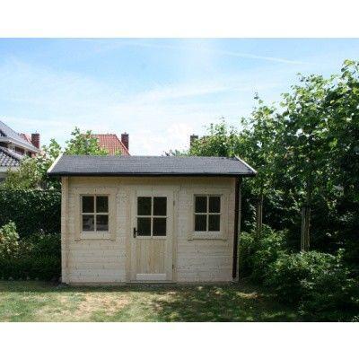 Bild 21 von Azalp Blockhaus Mona 450x400 cm, 45 mm