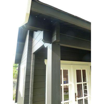 Bild 50 von Azalp Blockhaus Kinross 550x550 cm, 45 mm