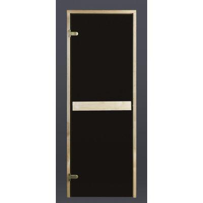 Hoofdafbeelding van Ilogreen Saunadeur Classic (Elzen) 79x189 cm, bronsglas