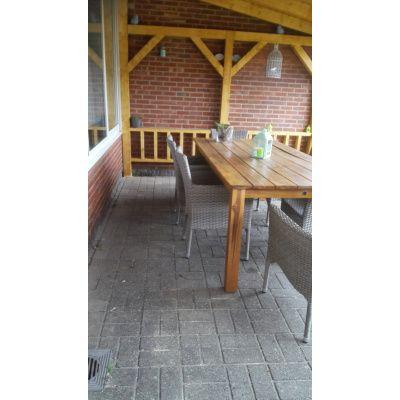 Afbeelding 21 van Azalp Houten veranda 700x300 cm