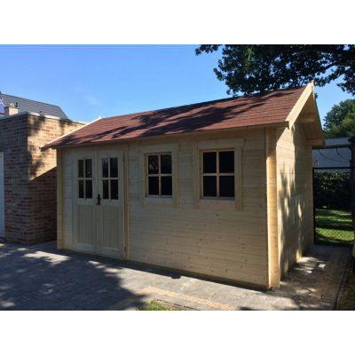 Bild 6 von Azalp Blockhaus Lynn 450x400 cm, 45 mm