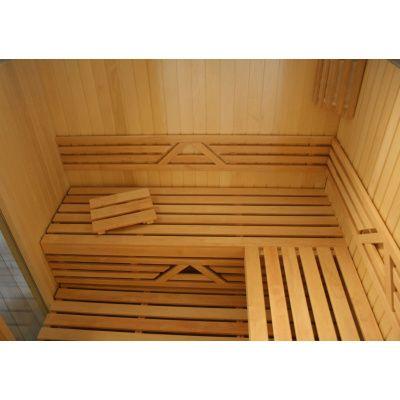 Afbeelding 2 van Azalp Saunabank recht, Elzen breedte 70 cm