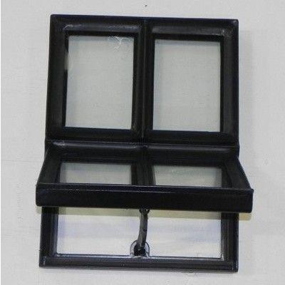 Hoofdafbeelding van Azalp Stalen openklapbaar raam (onderste deel), 300x400 mm