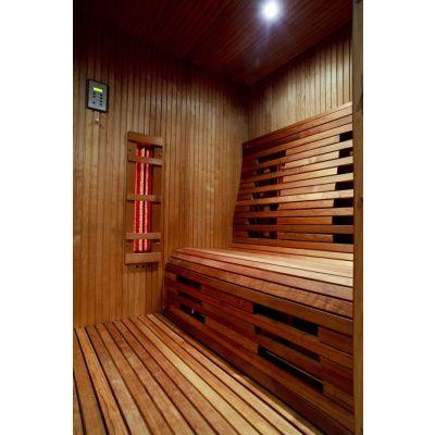 Afbeelding 2 van Azalp Saunabanken geheel op maat