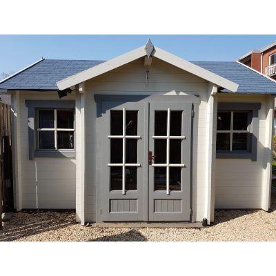 Bild 3 von Azalp Blockhaus Essex 450x400 cm, 30 mm