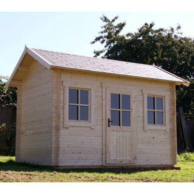 Bild 39 von Azalp Blockhaus Lis 350x350 cm, 30 mm