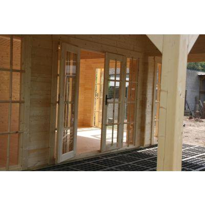 Bild 21 von Azalp Blockhaus Ben 600x750 cm, 45 mm