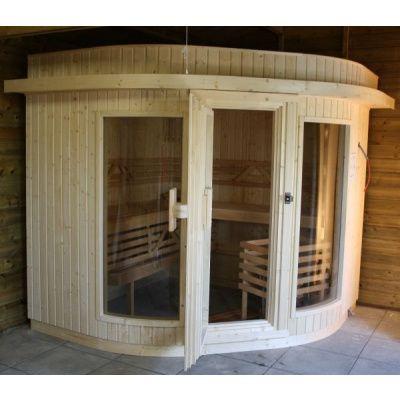 Bild 8 von Azalp Sauna Runda 203x237 cm, Fichte