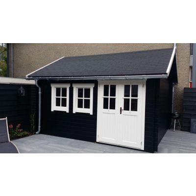 Bild 40 von Azalp Blockhaus Lynn 450x400 cm, 45 mm