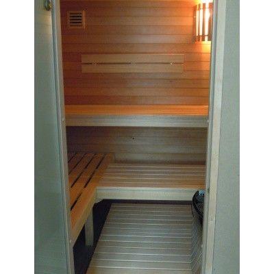 Afbeelding 3 van Azalp Saunabank recht, Abachi breedte 50 cm