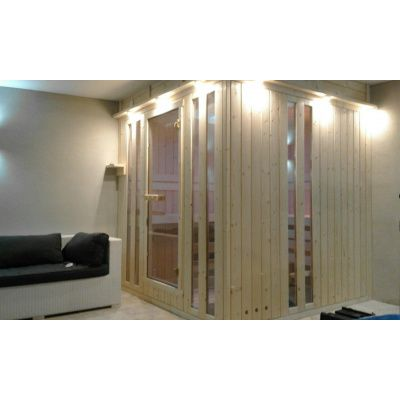 Afbeelding 7 van Azalp massieve sauna Alku 238x117 cm, 40 mm