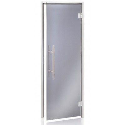 Hoofdafbeelding van Hot Orange Stoombad deur Au Premium 90x200 cm, grijs