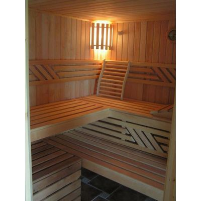 Afbeelding 10 van Azalp Sauna Runda 263x220 cm elzen