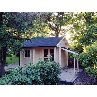 Afbeelding 45 van Azalp CLASSIC blokhut Cottage Style Cumberland 520x430 cm, 45 mm