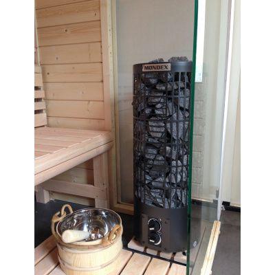 Afbeelding 20 van Azalp Sauna Luja 180x180 cm, 45 mm