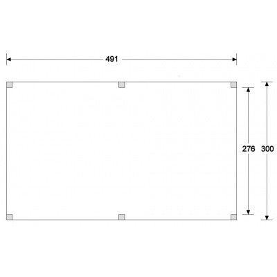 Afbeelding 2 van CarpGarant Overkapping Douglas 300x500 cm (GC133552)