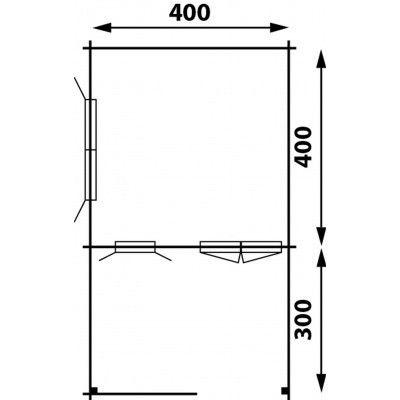 Afbeelding 2 van Interflex 4x4+3, geverfd