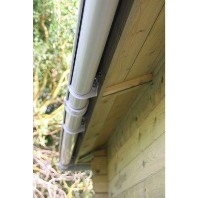 Bild 17 von Azalp Dachrinnenset DELUXE 800 cm (dunkelbraun, grau oder weiss)