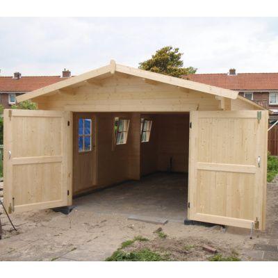Afbeelding 21 van Azalp Garage Thijs 470x570 cm, 95 mm