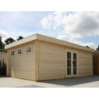 Bild 32 von Azalp Blockhaus Ingmar 500x350 cm, 30 mm