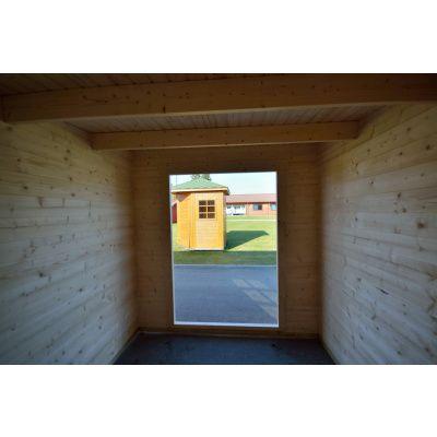 Bild 8 von Azalp Blockhaus Sanne 600x250 cm, 30 mm