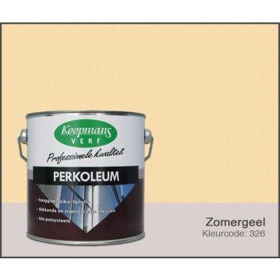 Hoofdafbeelding van Koopmans Perkoleum, Zomergeel 326, 2,5L Hoogglans (O)