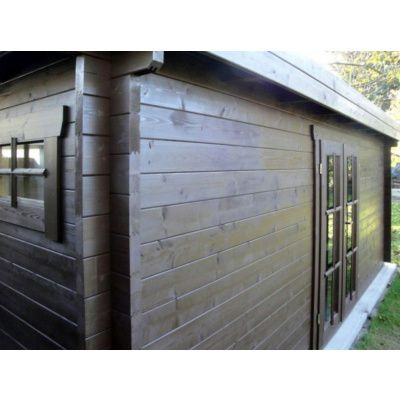 Bild 77 von Azalp Blockhaus Ingmar 596x596 cm, 45 mm