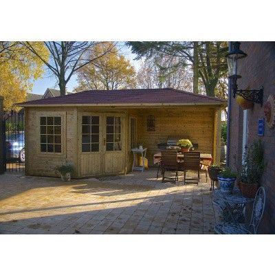 Bild 17 von Interflex Blockhaus 3555 Z, Seitendach 450 cm