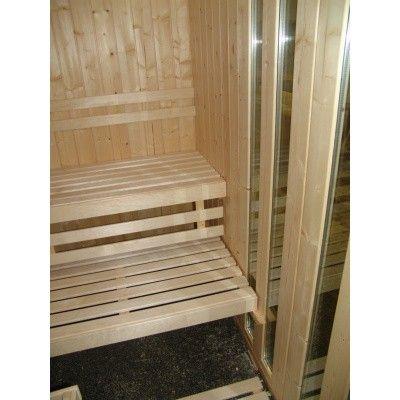 Afbeelding 10 van Azalp massieve sauna Alku 238x117 cm, 40 mm