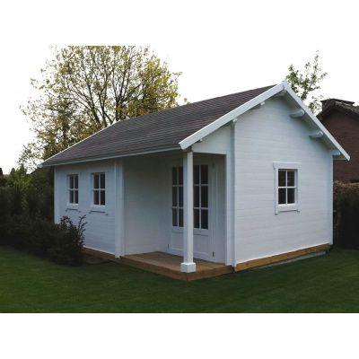Afbeelding 44 van Azalp CLASSIC blokhut Cottage Style Cumberland 520x430 cm, 45 mm