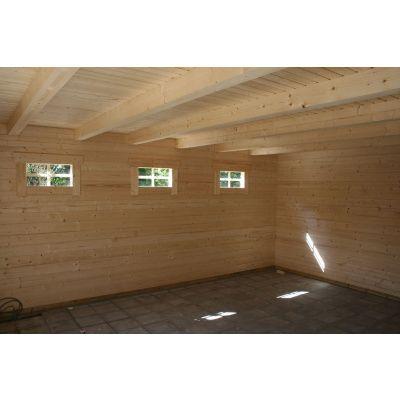 Bild 30 von Azalp Blockhaus Ingmar 596x550 cm, 45 mm