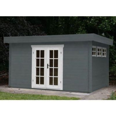 Bild 16 von Azalp Blockhaus Ingmar 350x400 cm, 45 mm